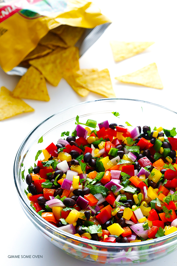 Best Salsa Recipes - Peach Salsa, Pineapple Salsa, Mango Salsa, Greek Salsa, Fresh Tomato Salsa, Avocado Salsa, Tomatillo Salsa... and so much more!  Can't wait for the next summer BBQ!