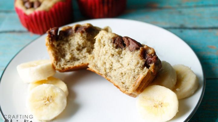 Banana Oat and Greek Yogurt Muffins