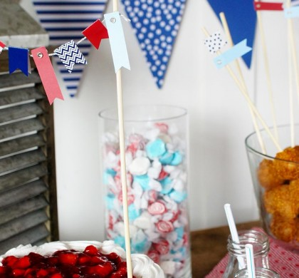 Nautical Party Tablescape