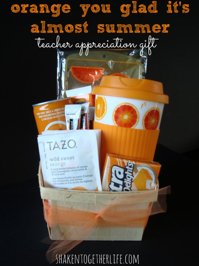 Mint Themed Teacher Gift - Easy & Affordable!
