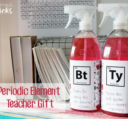 Periodic Element Teacher Appreciation Gift