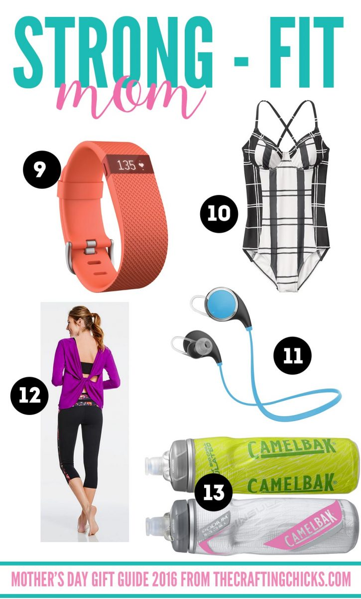 Mother's Day Gift Guide for the Fit Mom on thecraftingchicks.com