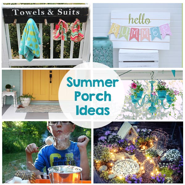 summer porch ideas - the crafting chicks