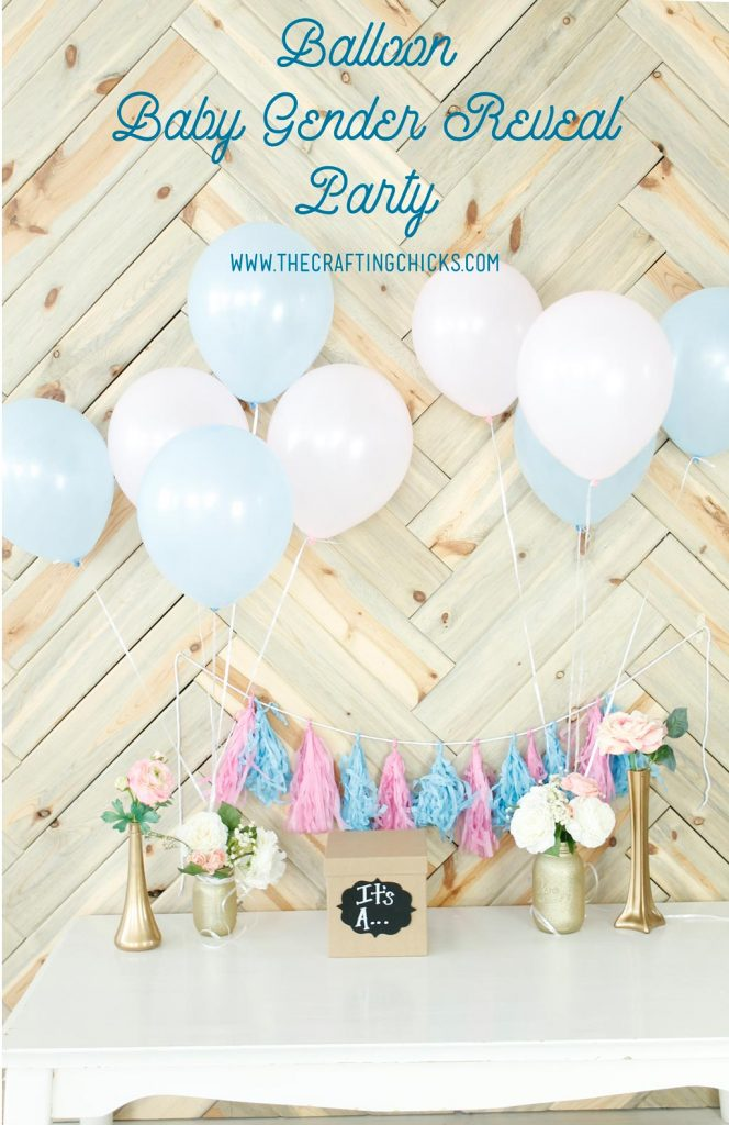 Balloon-Baby-Gender-Reveal-Party
