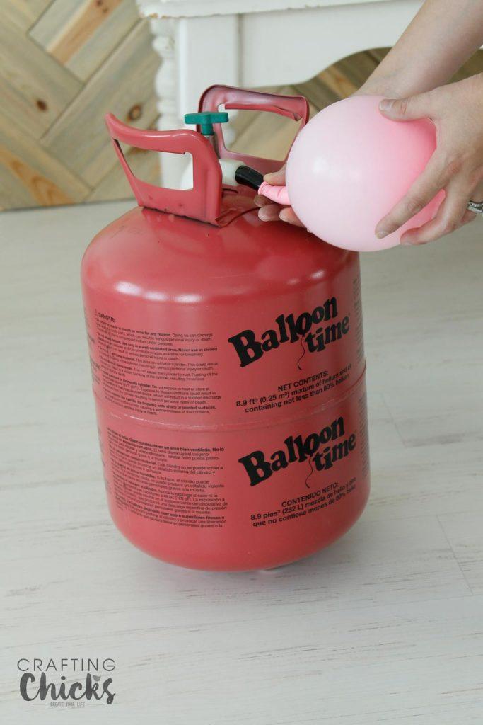 Balloon-helium-tank