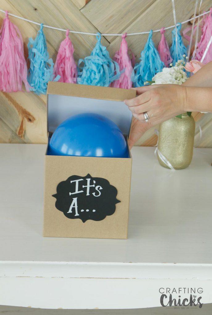 Ballooon-gender-party