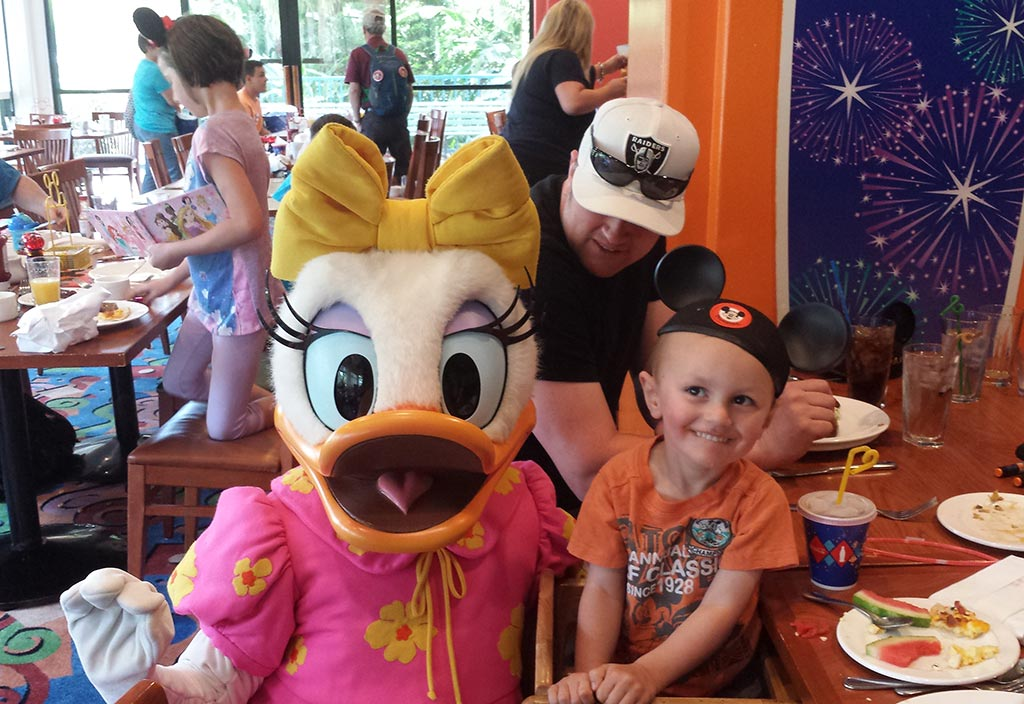 Character Breakfast with Daisy Duck