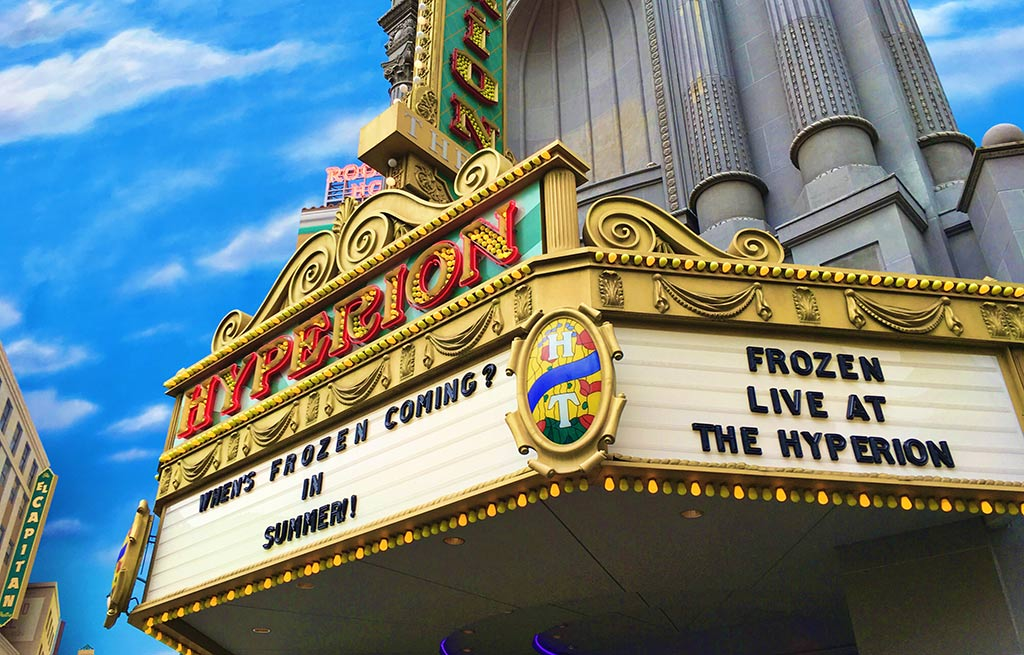 Frozen Live at the Hyperion in Disney California Adventure Park