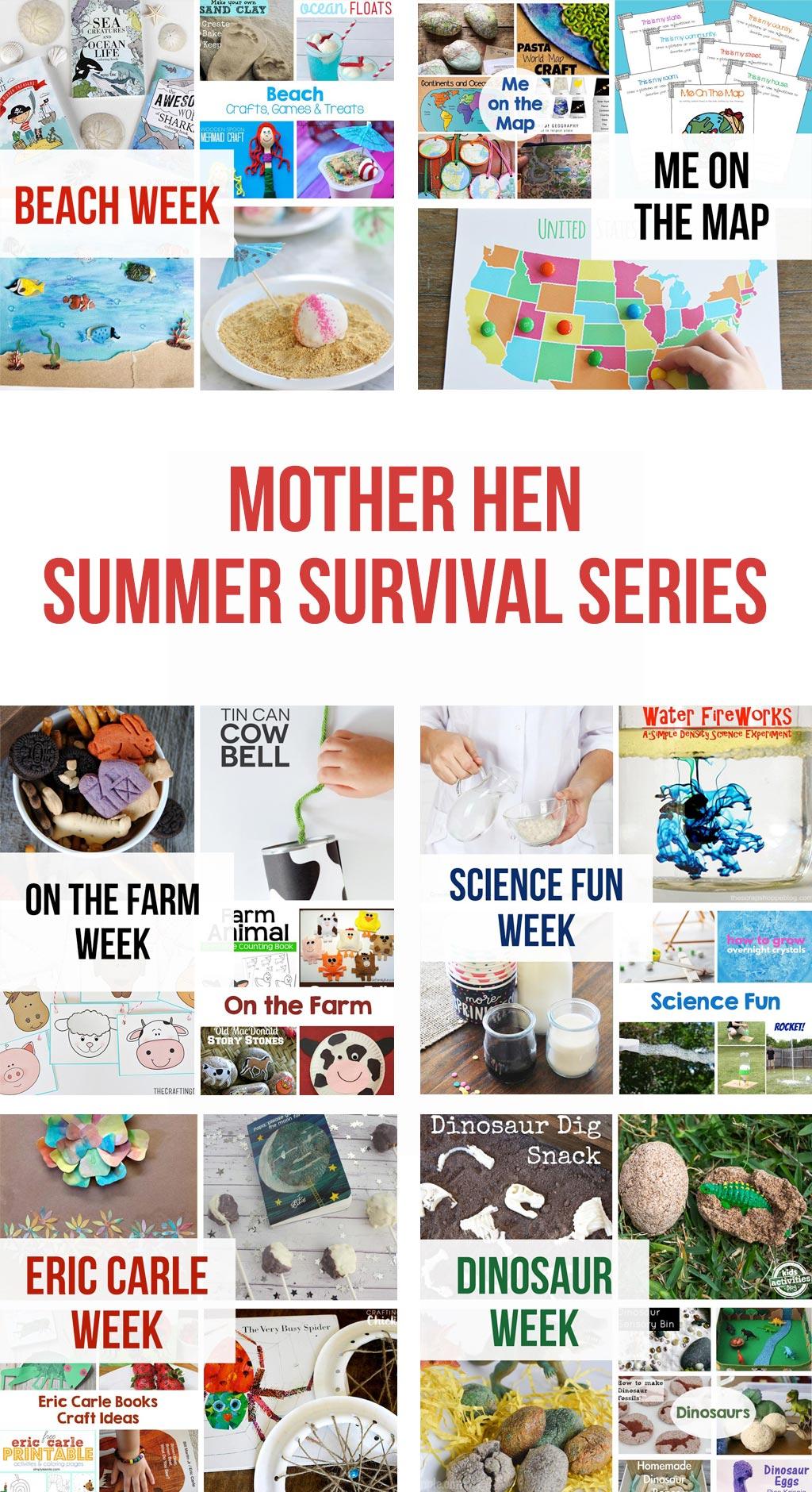 mother hen summer survival series