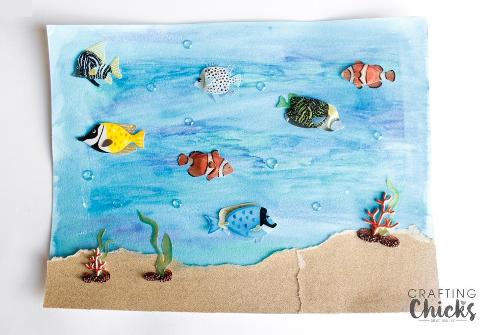 Ocean Art Work for Kids