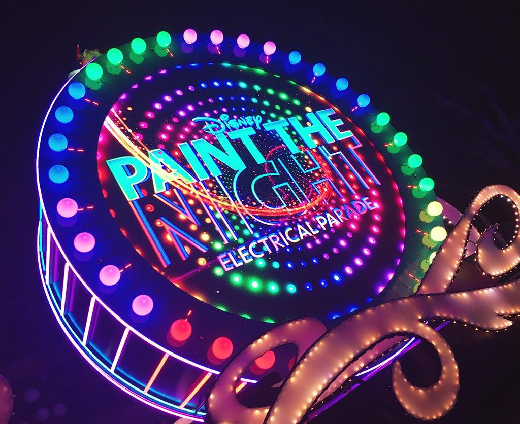 Paint The Night Parade Disneyland California