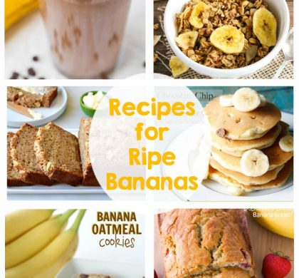 21 Recipes for Ripe Bananas