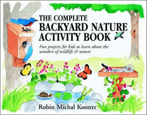 backyard nature book