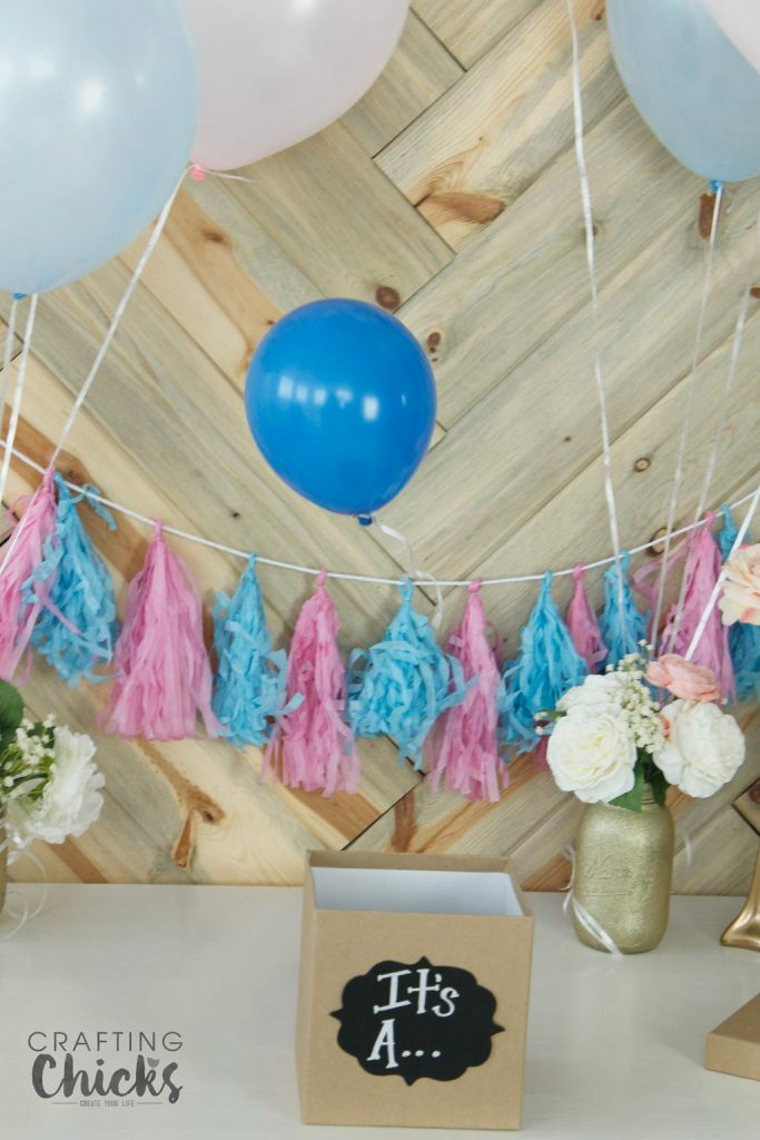 Balloon Baby Gender Reveal Party