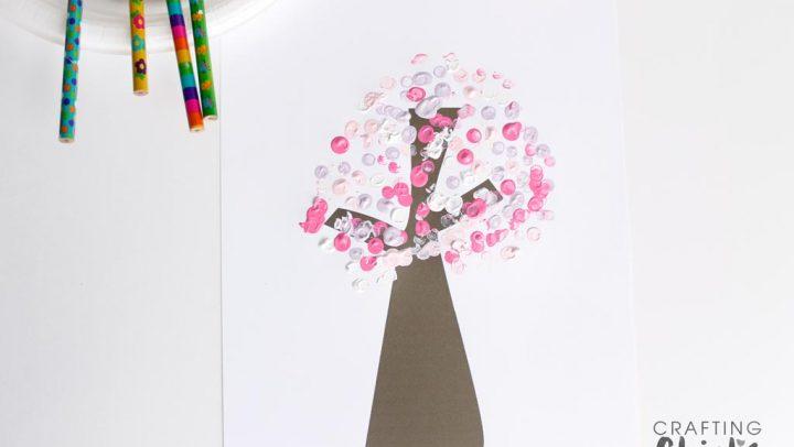Springtime Blooming Tree Kids Craft