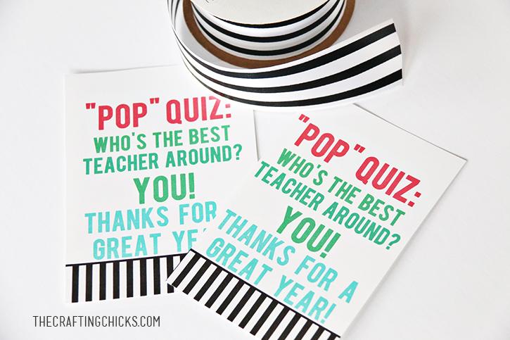 popcorn teacher gift tag