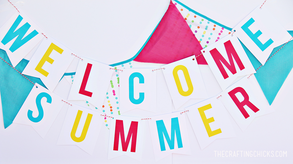 Welcome Summer Banner