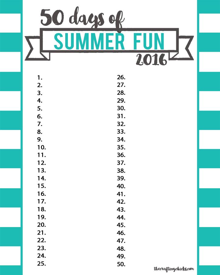 sm summer fun chart blue