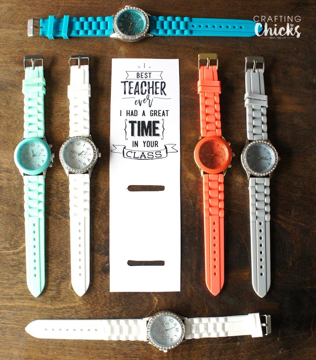Great Time - Watch Teacher Gift Idea