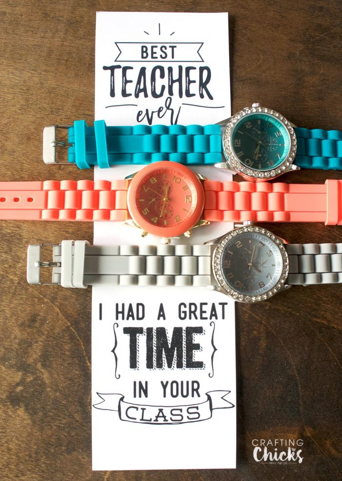 Great Time - Watch Teacher Gift Idea