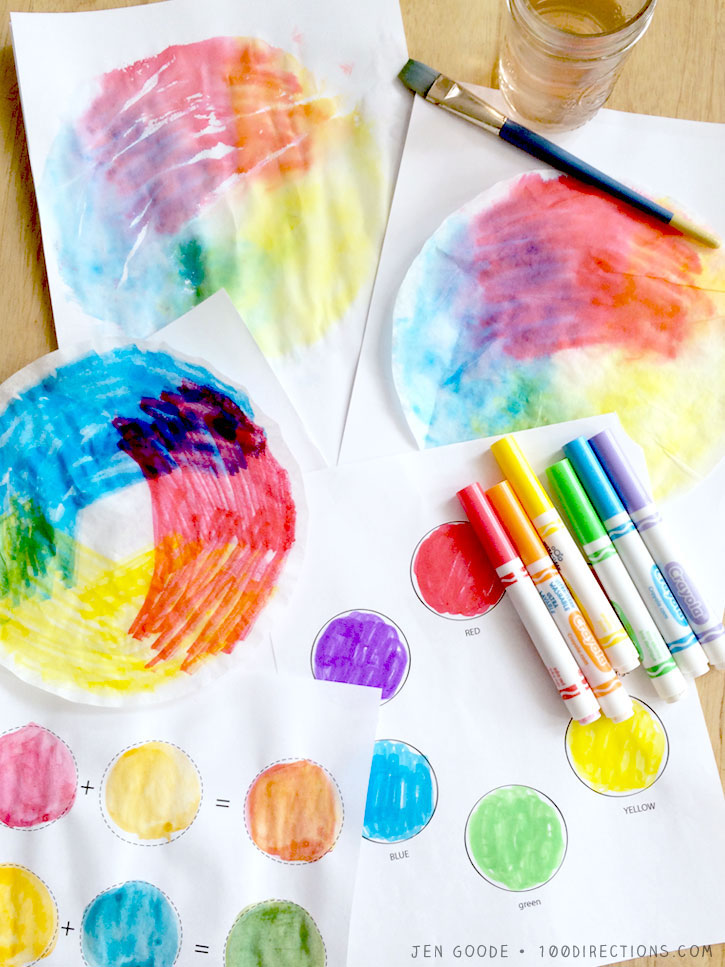 Exploring Art: Playing With Color