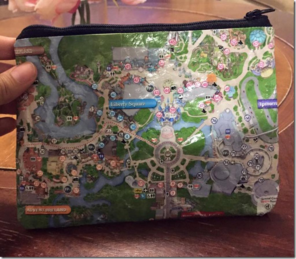 DIY Map Pouch