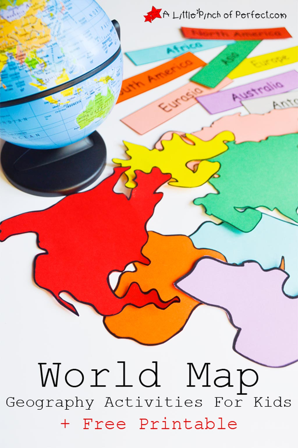 World Geography Printables