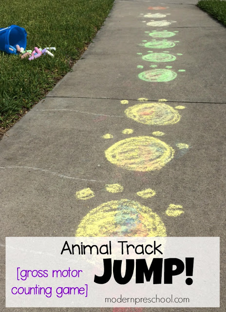 Animal Track Jumps! - Fun summertime game!