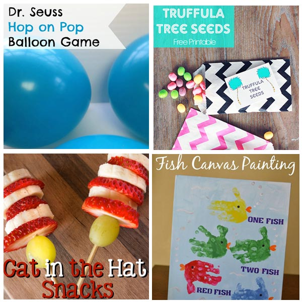 picture relating to Truffula Seeds Printable called Dr. Seuss - The Writing Chicks