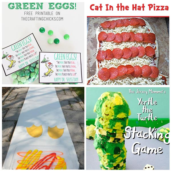 Dr. Seuss - Printables, Games, Crafts, Activities, Treats - Everything your kids need for a summer week of Dr. Seuss fun!