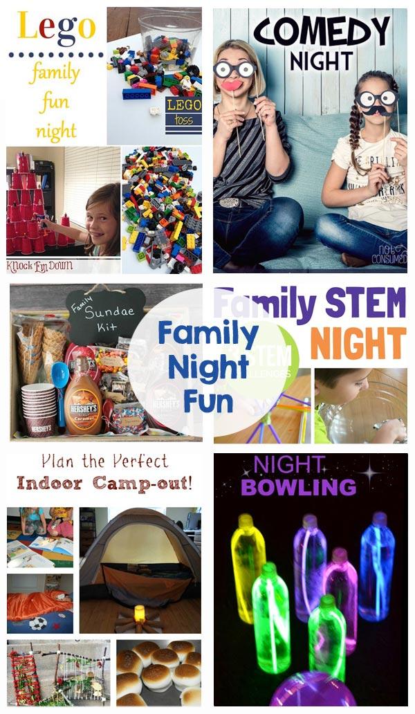 Family Night Fun - The Crafting Chicks