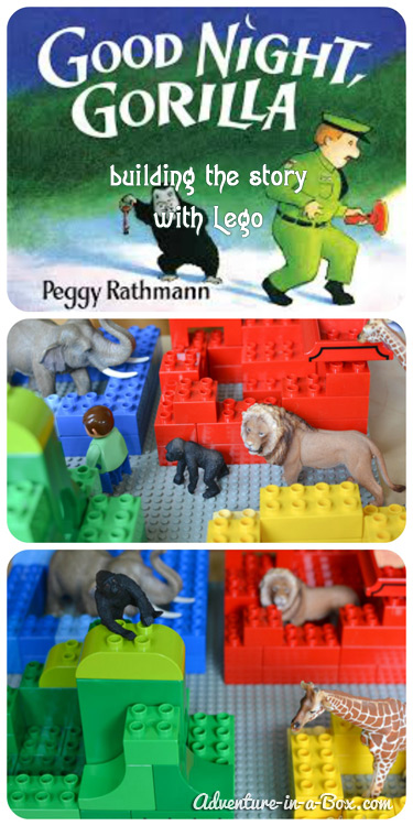 Build a story with Legos