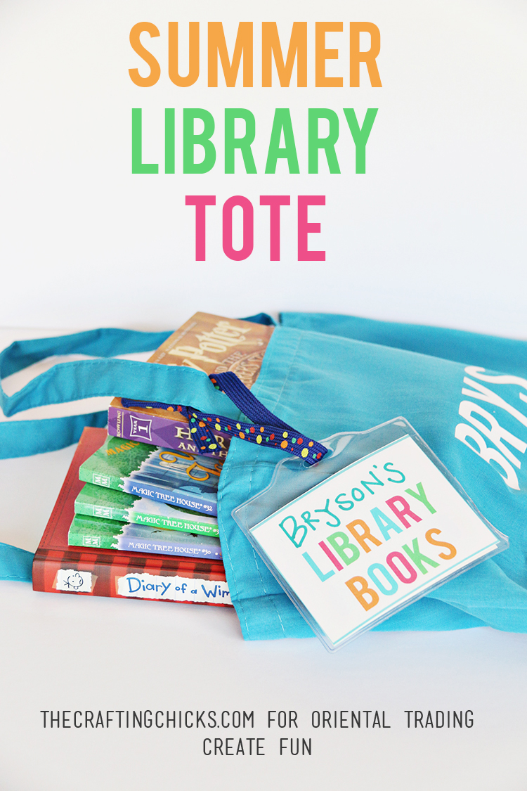 DIY Summer Library Tote