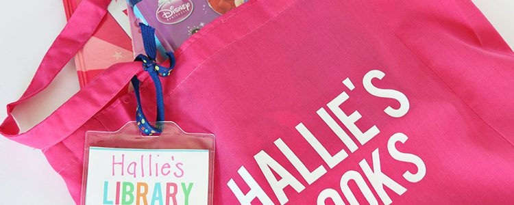 Summer Library Totes