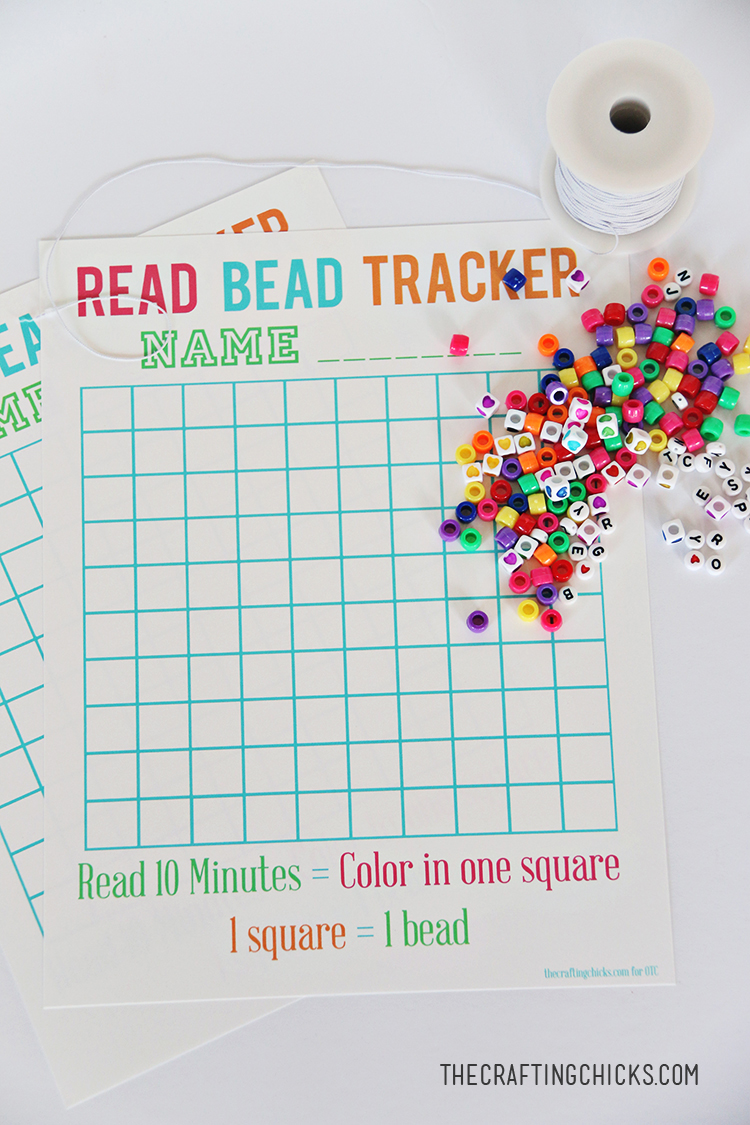 Read Beads Reading Incentive - The Crafting Chicks