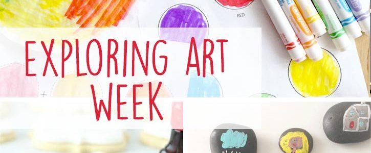 Exploring Art Week