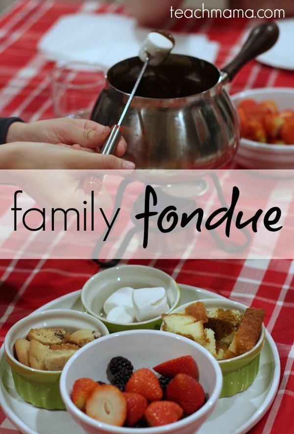 Family Fondue