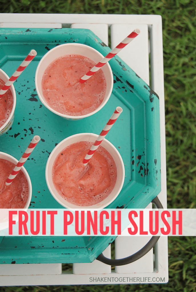 Fruit Punch Slush from Shaken Together