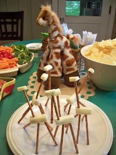 Giraffe Pretzels