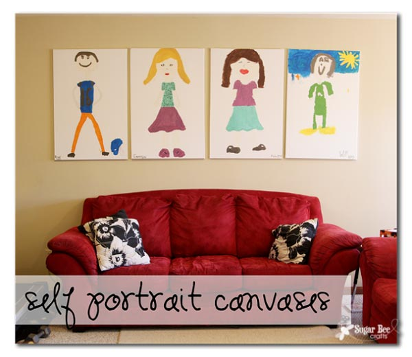 Self Portrait Canvases