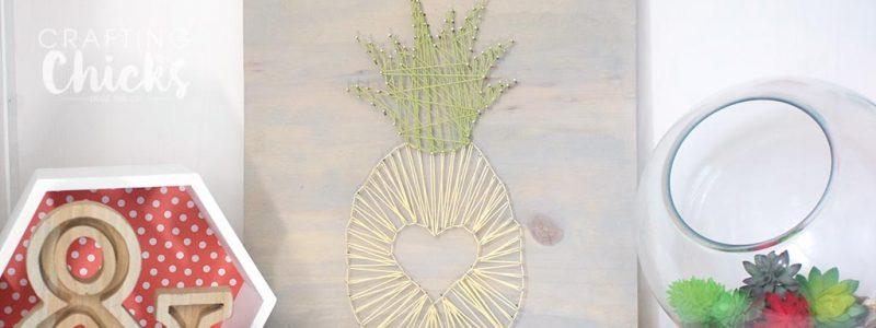 Pineapple String Art