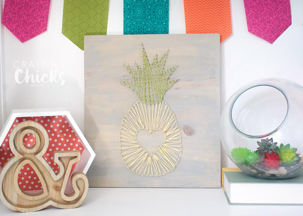 Pineapple Stringart