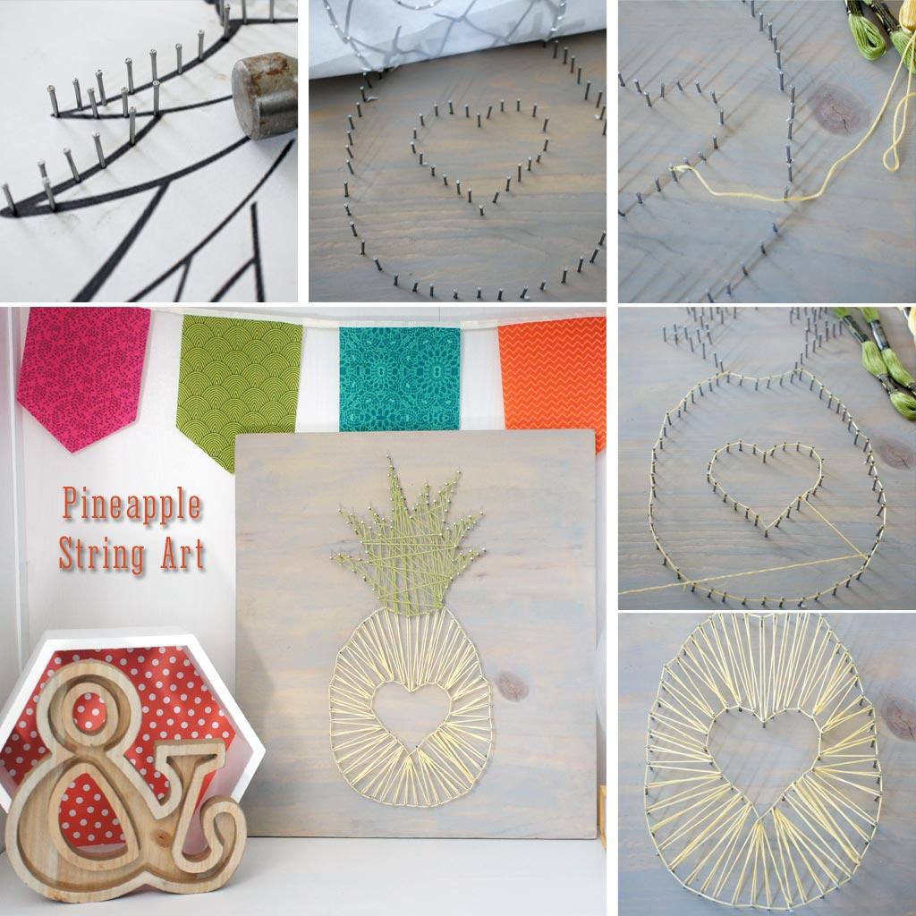 Pineapple Stringart