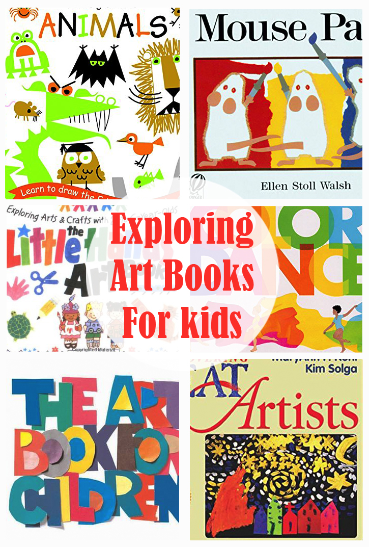 Exploring Art Books For Kids