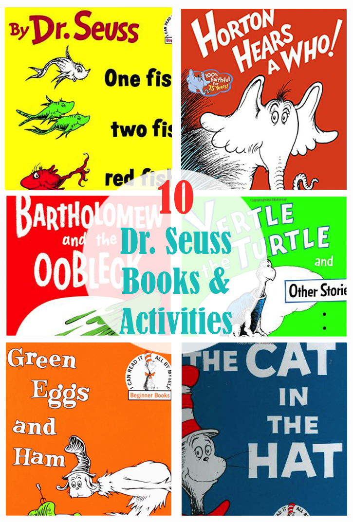 graphic regarding Printable Dr Seuss Books named 10 Favourite Dr. Seuss Textbooks Coordinating Pursuits - The