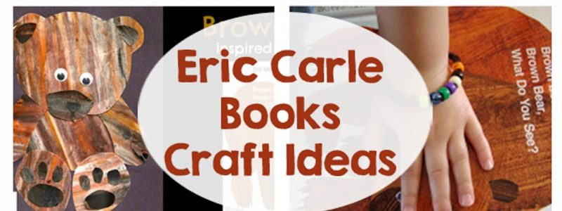 Eric Carle Books - Craft Ideas - printables, activities and snacks that go along with your favorite books!