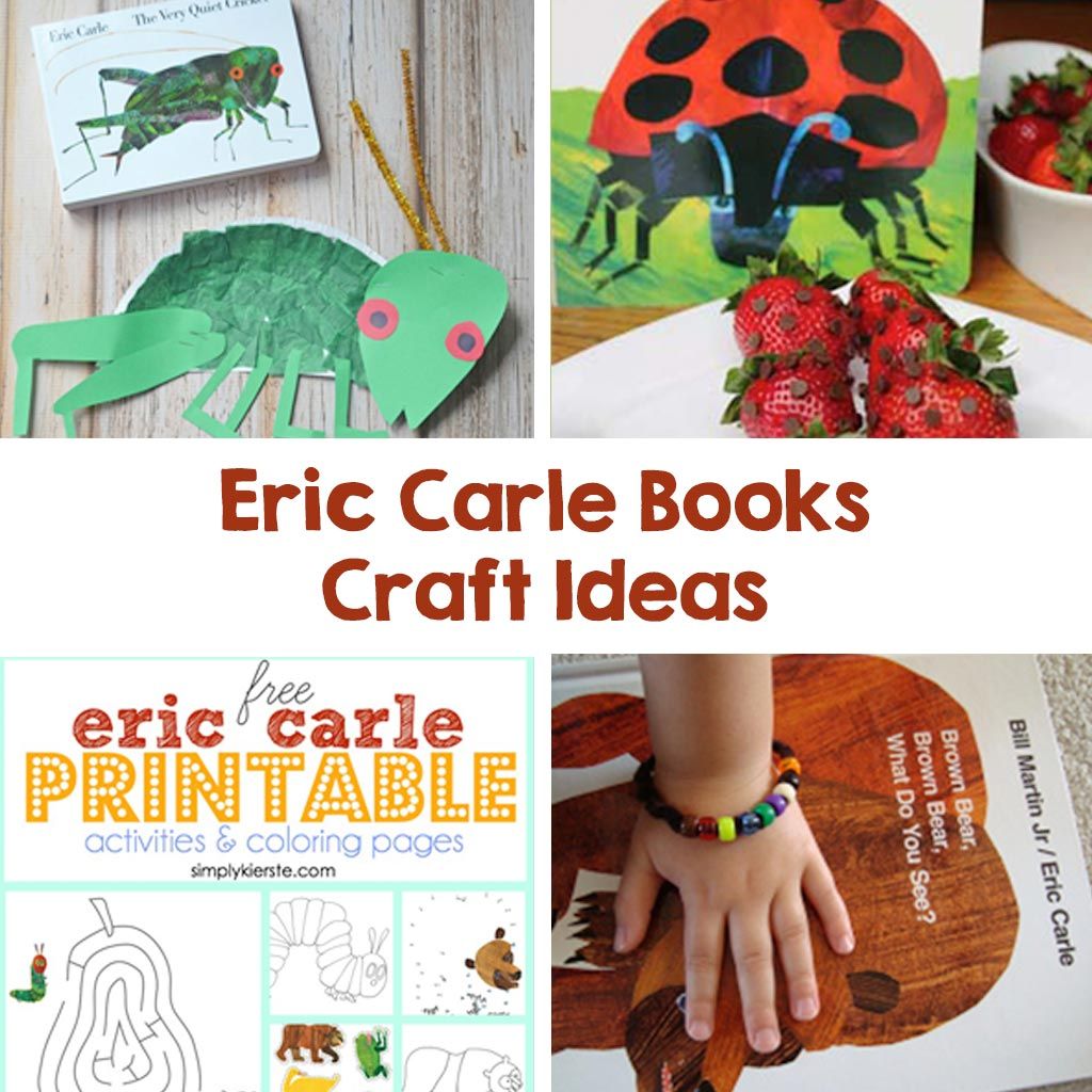 crafts with eric carle books