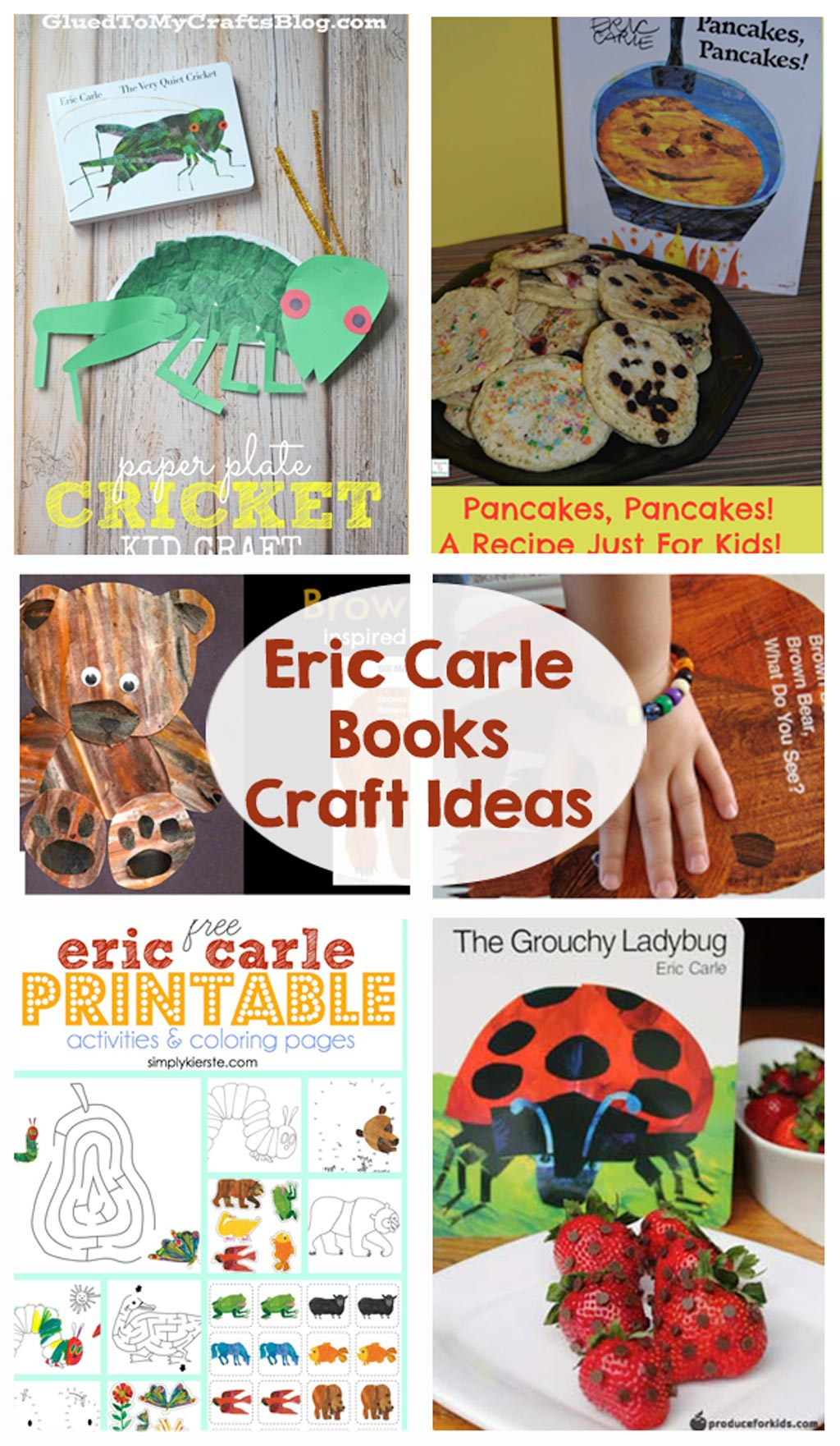 Eric Carle Books Craft Ideas The Crafting Chicks