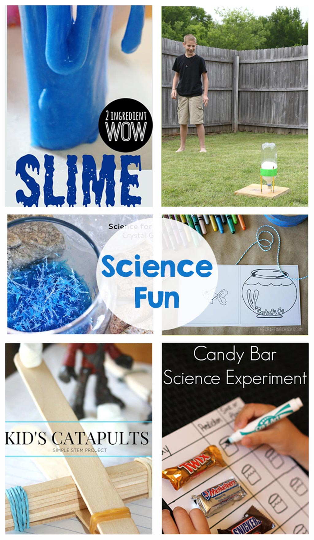 Science Fun - Game, printables, science experiments, crafts, kids activities, and STEM - Everything you need to keep kids entertained this summer!