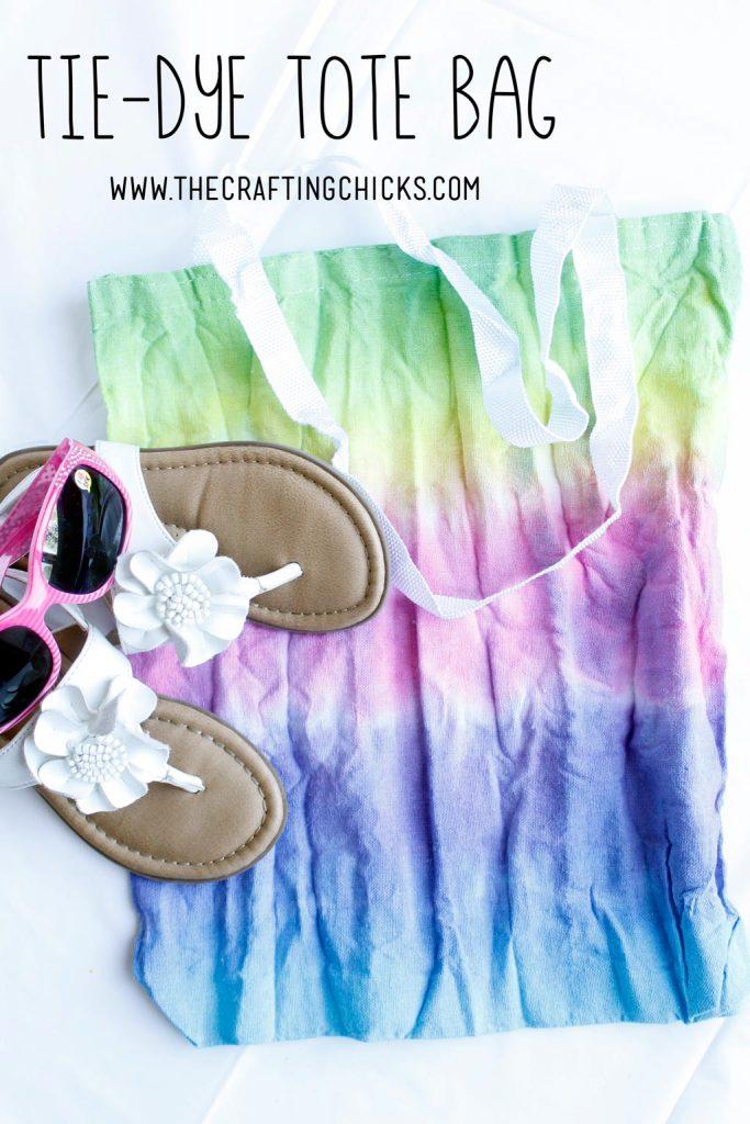 DIY Tie-Dye-Tote-Bag - a simple Summer project
